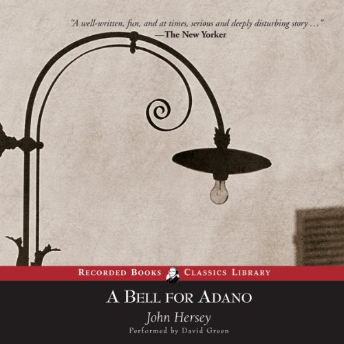 A Bell for Adano audiobook cover art
