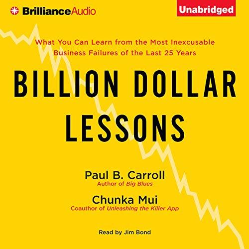 Couverture de Billion Dollar Lessons