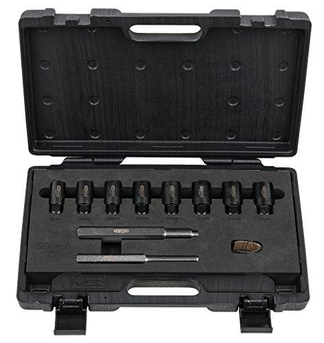 KS Tools 913.1480 Radsicherungs-Demontageset, 10-tlg.