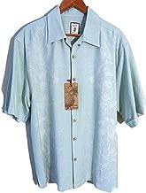 Jamaica Jaxx Short Sleeve Silk Shirt Dusty Olive