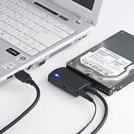 サンワサプライ アウトレット SATA- USB3.0 変換 ケーブル USB-CVIDE3 箱にキズ、汚れのあるアウトレット品です。