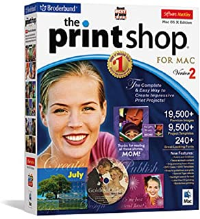the print shop 2 for mac