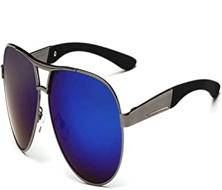 FRGTHYJ - FRGTHYJ piloto Polarizado Hombres Hombres Gafas de Sol Hombres Conducción Gafas de Sol Hombre piloto Gafas de Sol para Hombres Marca Moda Retro Recubrimiento F