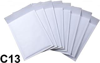 10 x Sobres Acolchados Hechos Por Net4Client - Bolsas De Burbujas Bolsas Blancas Postales Expedidores De Burbujas Embalaje Rápido & Fácil C13 Tamaño 170x225mm