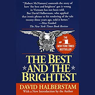 The Best and the Brightest audiobook cover art