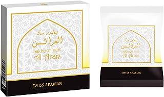 SWISSARABIAN Bakhoor 40g Packs and Bundles (Incense) (Musk Al Arais, 12 Packets)
