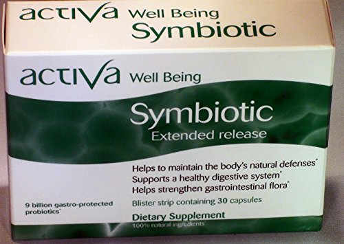 Activa Well Being Symbiotic - 8 Hour Extended Release