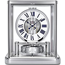 Jaeger-LeCoultre Atmos Classique Rhodium-plated Swiss Made Clock Q5102201