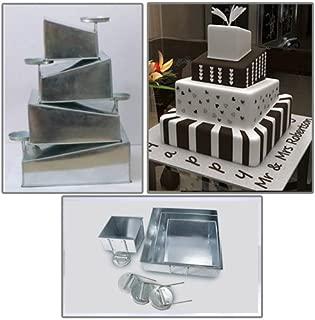 square topsy turvy cake pans