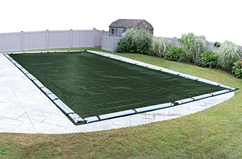 Robelle 412550R-ROB Premium-Mesh Winter In-Ground Pool Cover, 25 x 50-ft, 06 - XL Green