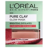 L'Oreal Paris Face Mask Pure Clay Glow, 50ml