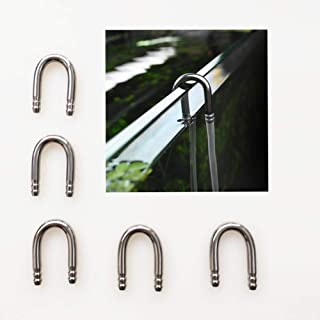 BASE WAVE Aquarium Accessories 5 pcs of U Type Tubes air Pump Accessories co2 System U-Shape Connector