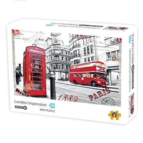 LIUCHANG Jisaw Puzzle de 1000 piezas, DIY interesantes juegos para adultos niños niños grandes juego de rompecabezas decoración de pared paisaje patrón juegos educativos liuchang20