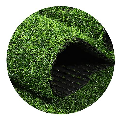 YNFNGXU Césped Artificial, Césped Sintético (0,78'tamaños Personalizados) Alfombra De Hierba Interior/Exterior, Easy Installation Multi-Use Astro Turf Rug, Césped De P(Size:20mm Grass height-2mx4m)