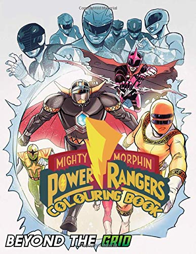 Power Rangers Colouring Book: 40+ beautiful illustrations of Power Rangers characters