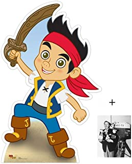 FAN PACK - Jake (Jake and The Neverland Pirates) Lifesize Cardboard Cutout / Standee - INCLUDES 8X10 (25X20CM) STAR PHOTO - FAN PACK #368