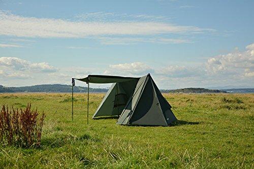 DD Hammocks superleichtes Zelt A-Form rahmenslos für Zwei Personen ohne Innenzelt und Boden