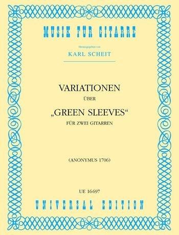 Variationen Ueber Greensleeves. Gitarre