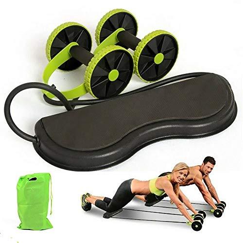 Unda118 Power Roll Ab Trainer Trektouw voor heren en vrouwen
