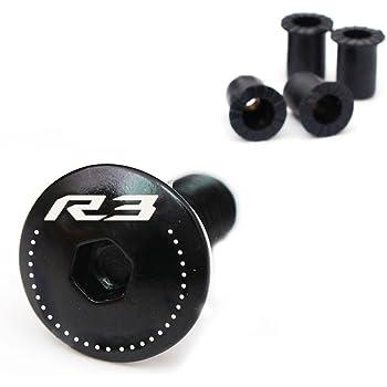 Engraving CBR Logo Black Windscreen Bolts Kit For Yamaha CBR600RR CBR1000RR 2003-2018 03 04 05 06 07 08 09 10 11 12 13 14 15 16 17