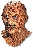 Contenuto della confezione: una maschera da Freddy Krueger in lattice. Materiale: lattice. La maschera copre completamente la testa.