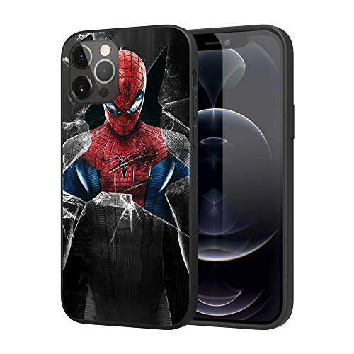 iPhone 12 Case iPhone 12 Pro Case, Feel Comfortable Comics Case Plastic Cover Case (Spider-Man)