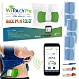 WiTouch Pro Bluetooth TENS Therapy for Back Pain Relief, Wireless TENS Unit with Gel Pads Included