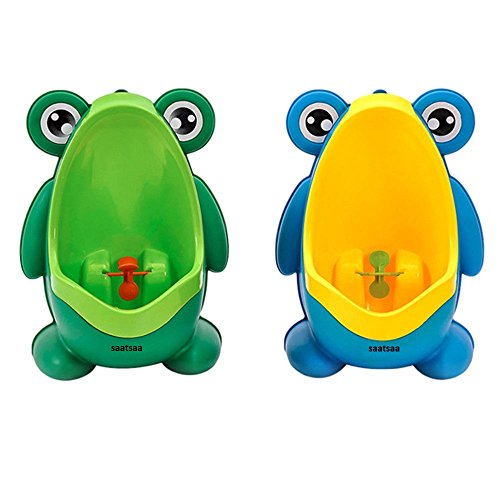 SaatSaa New Frog Children Pee Potty Toilet Training Kids Urinal for Boys...