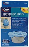 Carex Health Brands Commode Liners, 7 Count (Pack of 3)