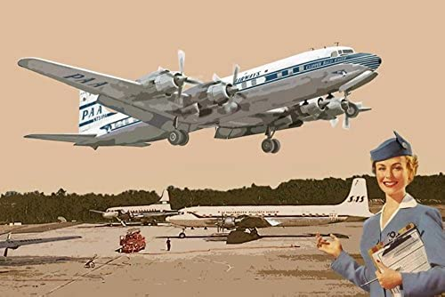 1 72 American Douglas DC-7C four engines airliner Pan American Airlines 1950 (japan import)