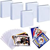 500 Penny Sleeves Trading Card Protector Compatible with Pokemon, Top Loader Baseball Football Basketball Sport Cards Sleeve Fits for MTG/ C.A.H/ Yugioh/ Dragon Shield Ultra Pro Storage Card Game HolderA.H/ Phase 10/ Sport Card And All Card Game Storage Holder