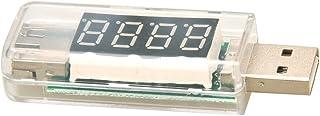 RETYLY KW-202 digital display USB bärbar spänningsmätare voltmeter batteritestare för powerbank mobiltelefon mobil mobil m...