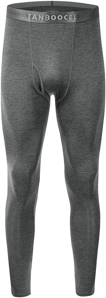 TANBOOCEL Bamboo Men's 4 years Sales warranty Thermal Underwear Pants Layer Base Bottom
