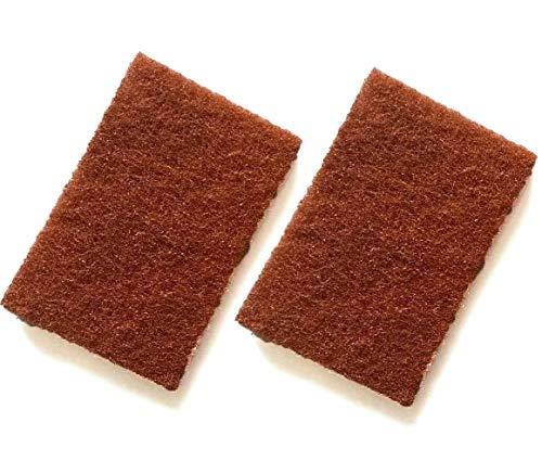 富士商 国産 キッチンスポンジ 銅の力 抗菌シート 抗菌 2枚組 銅 約9×13.5×0.5cm 日本製 抗菌 傷がつかない 特殊加工 シートタイプ カット 688 2枚入