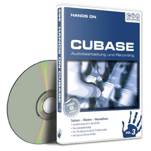 Preisvergleich Produktbild Hands On Cubase Vol. 3 - Audio und Recording (PC+MAC-DVD)