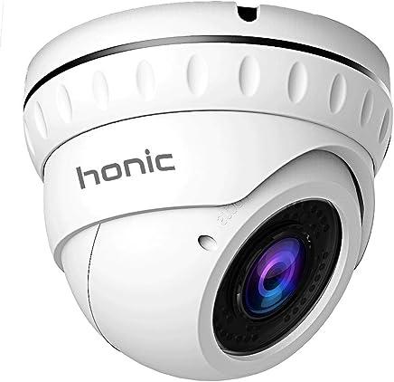 2MP Sony Exmor Sensor TVI/AHD/CVI/1000tvl 2.8mm-12mm Varifocal CCTV Camera, Honic 1080P HD Zoom Day Night Vision IR Dome Security Cameras, Waterproof Outdoor Analog Cam for Video Surveillance