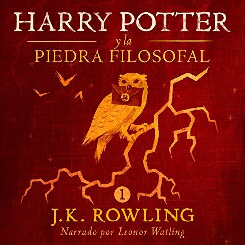 Diseño de la portada del título Harry Potter y la piedra filosofal