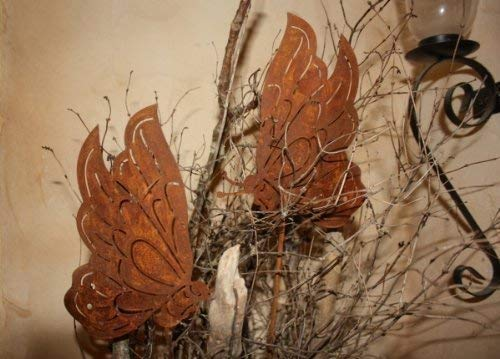 Rostikal Patine Déco Papillon, Tendance Décoration avec Patine