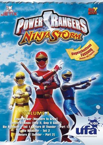 Power Rangers - Ninja Storm Vol. 3