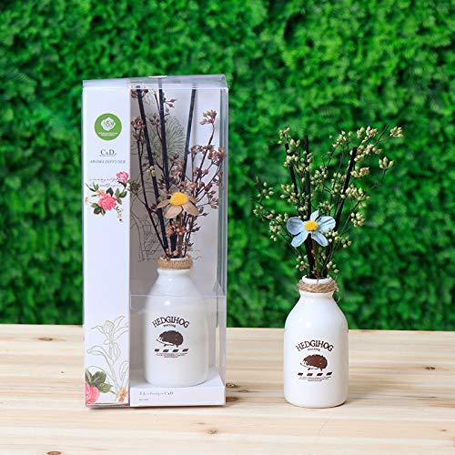 Wegji Brandvrije droge bloemengeur Home Indoor Room geur ornament geur lang aanhoudende geur etherische olie deodorant geur
