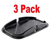 [3Pack] iEugen Sticky Gel Pads Phone Holder,Sticky Car Gel Pads Holder,Universal Sticky Pads Compatible Cell Phone iPhone Xs/Xs Max XR X 7/8 Plus, Samsung Galaxy Note 9 S8/S9 Plus, Pixel 2 XL