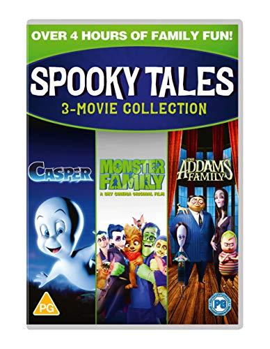 Spooky Tales (Addams Fam/Monsters Fam/Casper) [DVD] [2020]