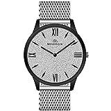 Reloj - MENDOZZA - Para - MW-White-Diamond