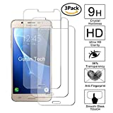 Guran [3-Unidades] Protector de Pantalla Vidrio Cristal Templado para Samsung Galaxy J5 2016 J510 Smartphone Cristal Vidrio Templado Film (9H, 2.5D Edge, 0.3mm)