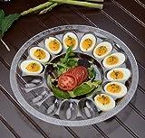 Bandejas de plástico duro para huevos, bandeja para huevos, cada bandeja tiene capacidad para 15 huevos, 30 cm
