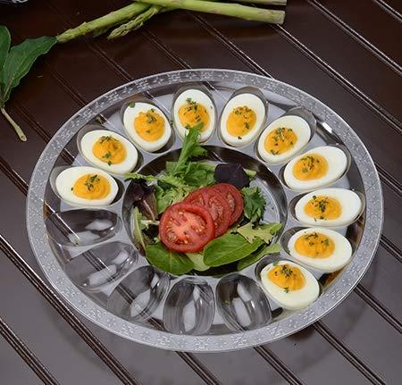 Eierschale aus Hartplastik, Würfelform, Eierplatte, für je 15 Eier geeignet, 30 cm