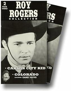 Carson City Kid & Colorado VHS