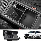 Chargeur de Voiture sans Fil pour Audi A4 A5 S4 S5 2017-2021 Panneau D'accessoires de Console...