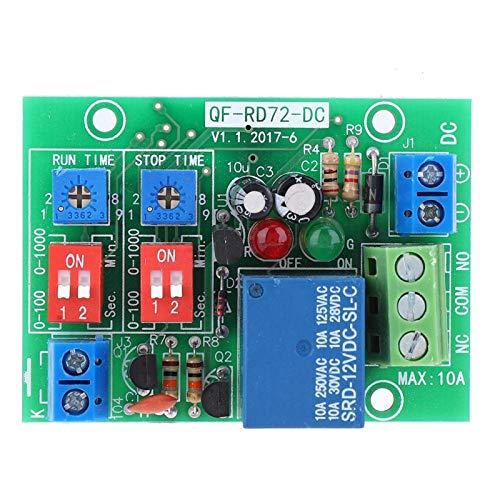 Botón de reinicio automático Ciclo infinito Dc 12v Relé de bucle infinito ON OFF Módulo de relé Micro con función de arranque/parada