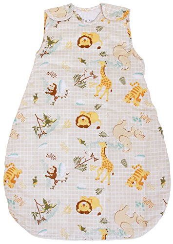 BABYINABAG Baby Sleeping Bag with Animal Pattern, 2.5 Tog's Quilted Winter Model (Medium (10-24 mos))